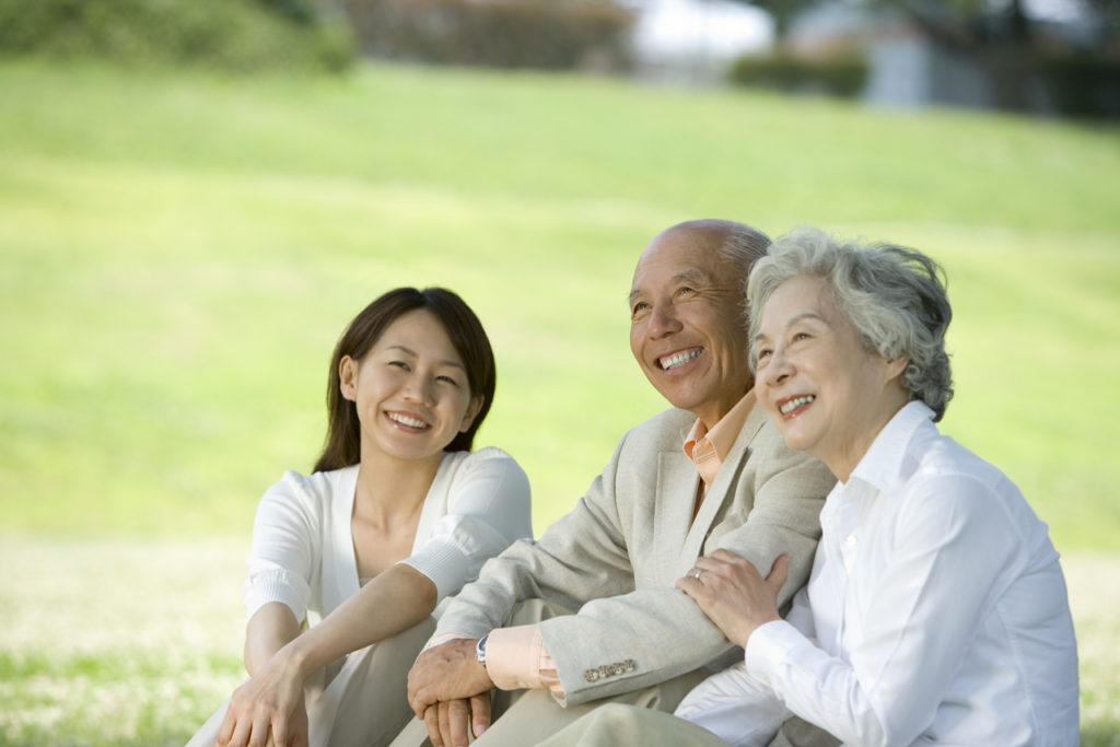 高齢者の画像