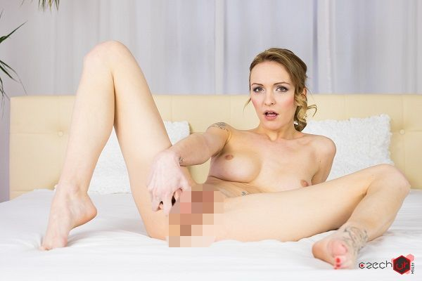 Czech VR Fetish 057 - Belle can fit in anything