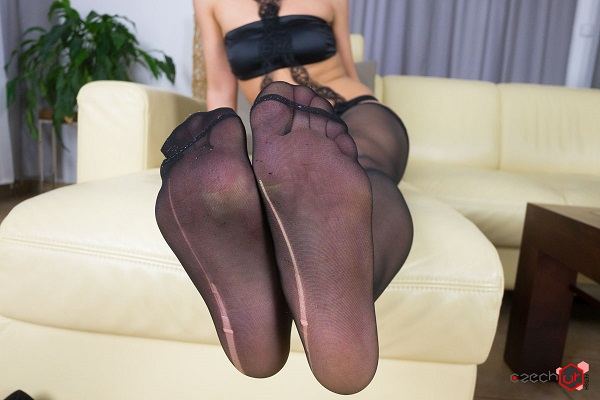 Czech VR Fetish 067 - Pulling Stockings from Juicy Pussy