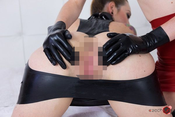 Czech VR Fetish 084 - Redheaded Mistress with Slave