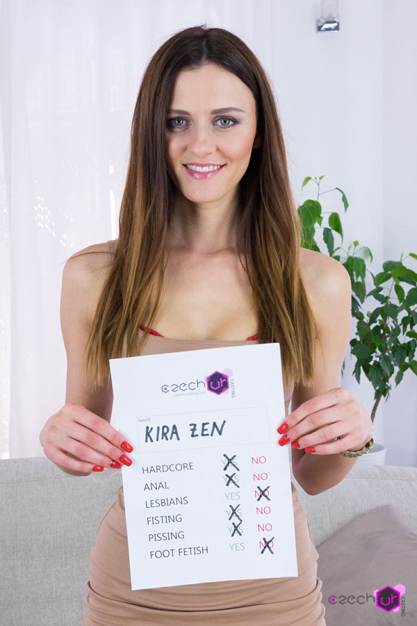 Czech VR Casting 087 - Beautiful Kira Zen
