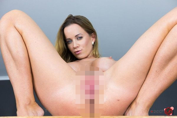 Czech VR Fetish 092 - Gigantic Dildo in Tiny Pussy