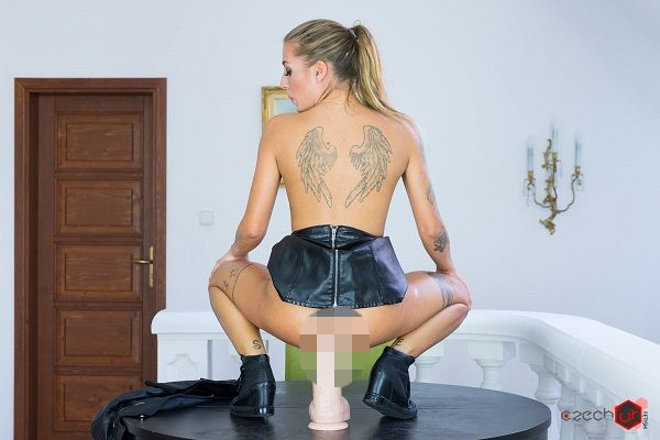 Czech VR Fetish 095 - Huge Dildo in Italian Ass