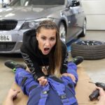Fit Babe Loves to Fuck Near Posh Cars