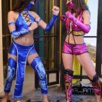 Mileena vs Kitana The Hottest Fight