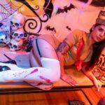 ハロウィンのホームパーティー おまんこ漬けのおちんちん