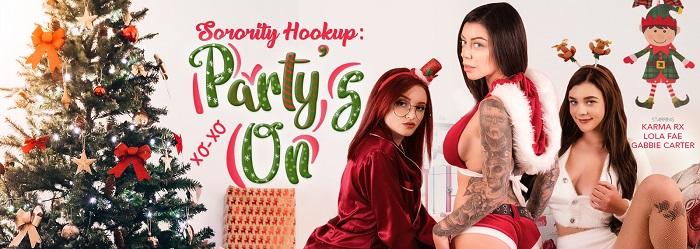 Sorority Hookup Party's On
